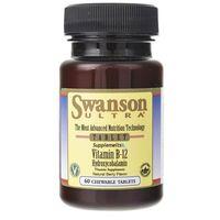 Swanson Witamina B12 (hydroksykobalamina) 1000 mcg - 60 pastylek
