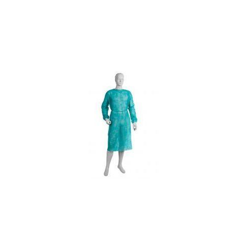 FARTUCH OCHRONNY z włókniny zielony 10szt XXL,0000058