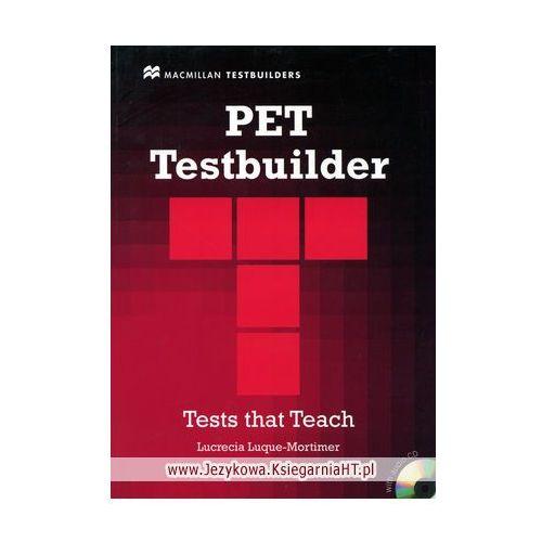 PET Testbuilder with Answer Key and Audio CD, Macmillan