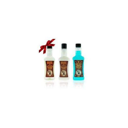 Reuzel Prezent: - szampon + odżywka + tonik utrwalający
