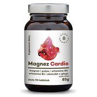Tabletki AURA HERBALS Magnez Cardio + ekstrakt z głogu + potas + witamina B1, B6 - tabletki 85g (ok. 90 tabletek)