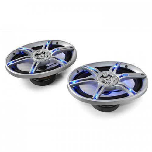 Auna cs-led69 15x23cm głośniki samochodowe 2x500w max. (4260236115299)