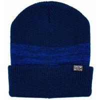 czapka zimowa SNOWBITCH - modrý (BLUE)