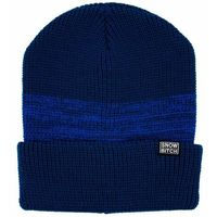 czapka zimowa SNOWBITCH - modrý (BLUE) rozmiar: OS
