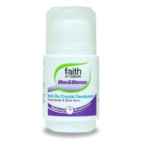Faith in nature Dezodorant w kulce dla kobiet i mężczyzn aloes & rumianek 50ml –
