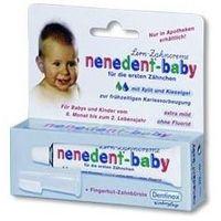 Nenedent-baby pasta 20ml + szczoteczka silikonowa dla dzieci 1op. marki Dentinox
