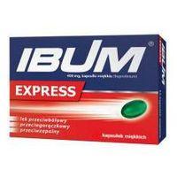 Kapsułki Ibum Express 0,4g x 24 kapsułki