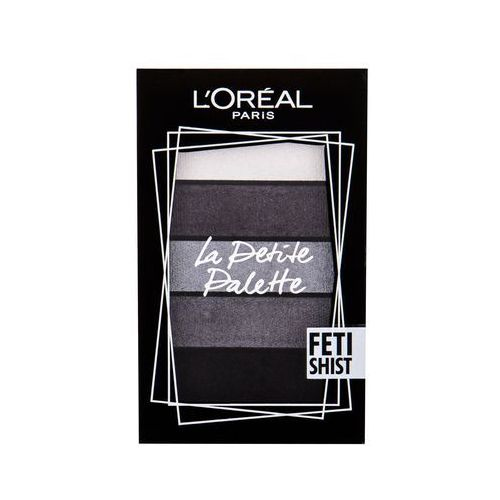 L'oréal la petite palette eyeshadow 5 x 0,8 g (cień fetishist) - Bardzo popularne