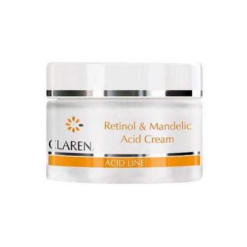 Retinol & mandelic acid cream krem przeciwzmarszczkowy z kwasem migdałowym i retinolem (1291) Clarena