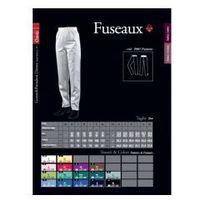 Fuseaux, spodnie damskie, lewantyna marki Pastelli