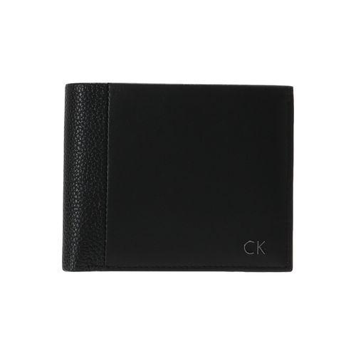 Calvin Klein NEW NATHAN COIN PASS Portfel black