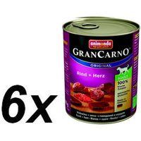 grancarno wołowina i serca 800g puszka - - zestaw 30szt. [dostawa od 8,59zł, firma rodzinna] marki Animonda