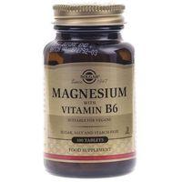Tabletki Solgar Magnez z witaminą B6 - 100 tabletek