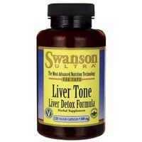 LIVER TONE - liver detox formula 300 mg 120 kaps SWANSON