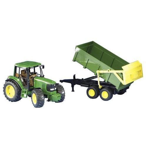 BRUDER John Deere 6920 Traktor z przyczepą 02058