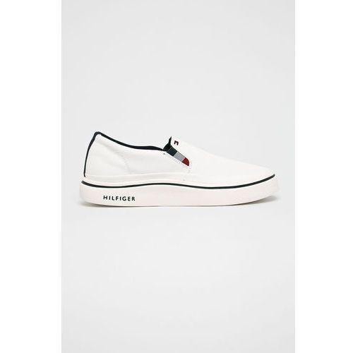 - tenisówki lightweight slip on sneaker, Tommy hilfiger
