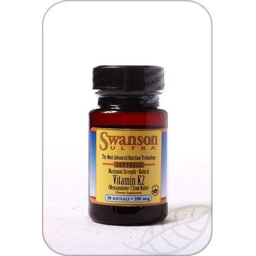 Swanson: Vitamin K-2 MK7 from Natto (witamina K2 MK7 z natto) 200mcg - 30 szt.