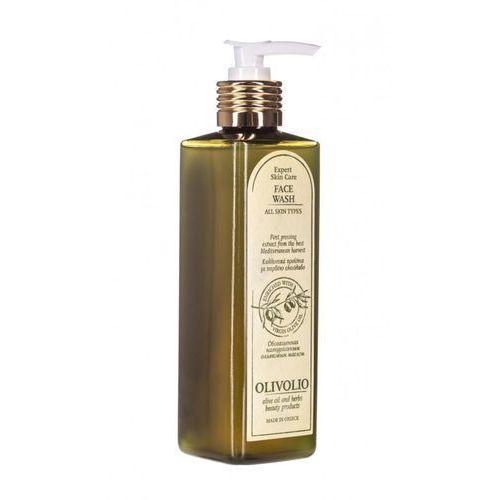 Olivolio face wash, 250 ml. żel do mycia twarzy i demakijażu z organiczną oliwą z oliwek - olivolio