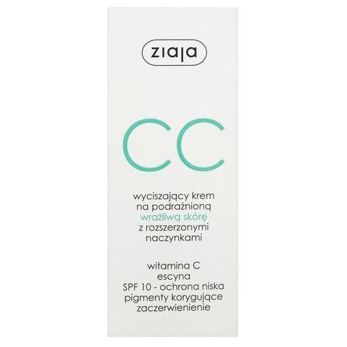 Ziaja krem cc na podrażnioną wrażliwą skórę z rozszerzonymi naczynkami 50ml - Ekstra oferta