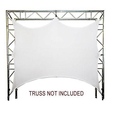 Duratruss dt screen-15-2 biały ekran do konstrukcji scenicznych 1,5x2m