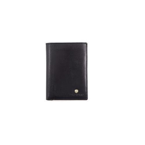 1fdef7f3f1cff ▷ Czarny męski portfel skórzany 317-2-1-1 (PETERSON) - opinie ...