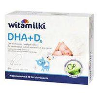 Witamilki DHA+D3 x 30 kapsułek twist-off