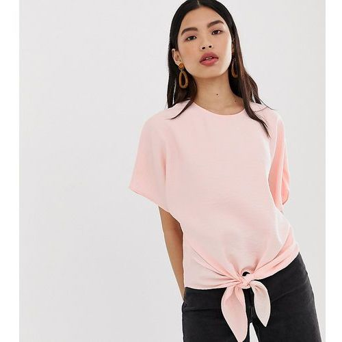 tie side blouse in pink - pink, Mango, 34-40