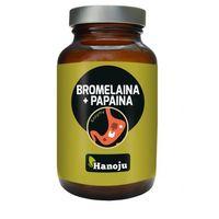 Bromelaina + Papaina 90 kapsułek (4260370999311)
