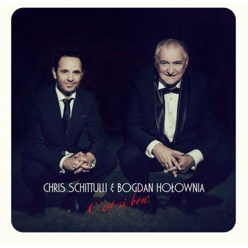 Chris schittulli&bogdan hołownia - c'est si bon (płyta z autografem) Hobo records