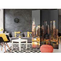 Parawan do mieszkania 3-częściowy - Nowy Jork o zmierzchu 135 szer. 172 wys.
