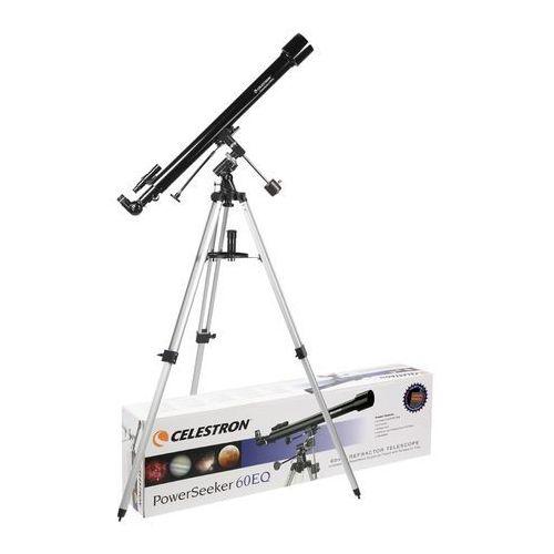 Teleskop CELESTRON PowerSeeker 60EQ + DARMOWY TRANSPORT!, HA-199591