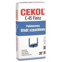 Cekol C-45 Finisz Polimerowa gładź szpachlowa 20kg (5906474458208)