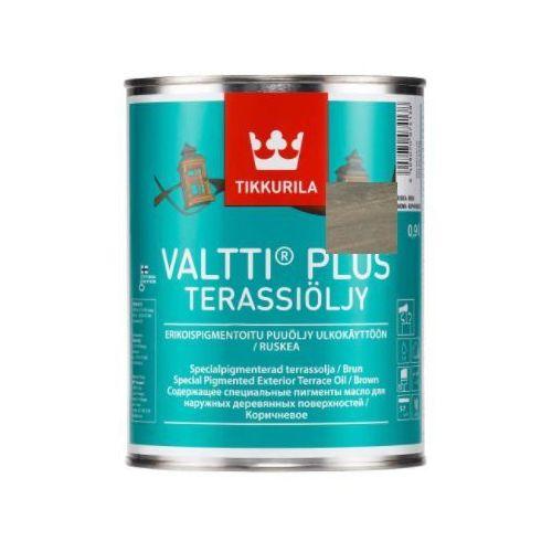 Valtti plus terrace oil- olej do drewna, szary, 0.9 l Tikkurila