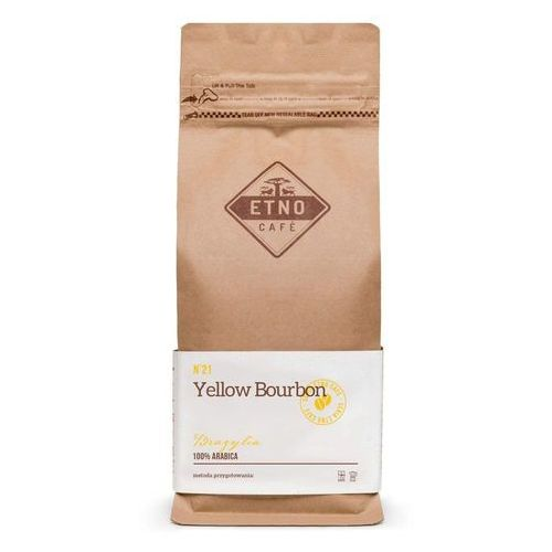 Kawa Etno Cafe Yellow Bourbon 1000g YELBOU1000LF