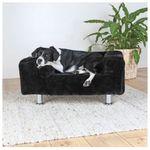 Sofa dla psa w kolorze czarnym
