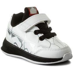 Adidas Buty - starwars rapidarun i cq0120 ftwwht/cblack/scarle