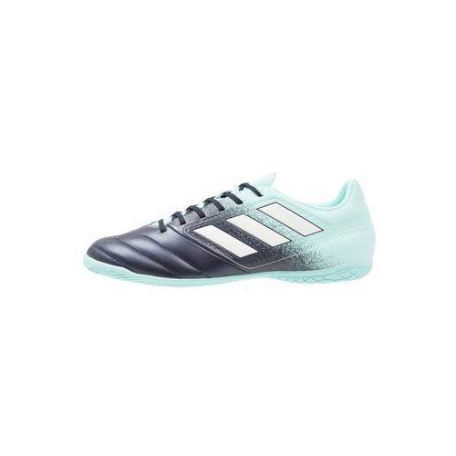 Adidas Performance ACE 17.4 IN Halówki energy aqua/footwear white/legend ink