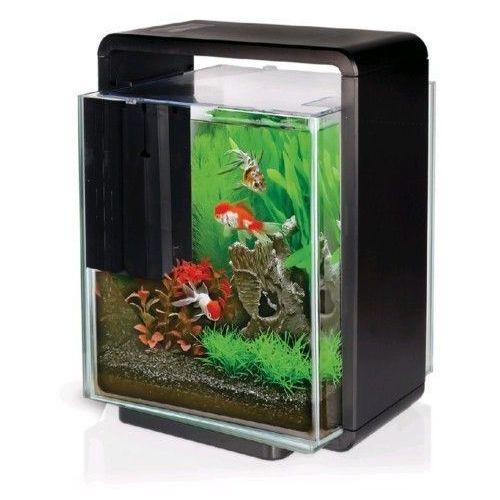 Akwarium 25l Hailea E25x Czarne Oświetlenie Led Filtr