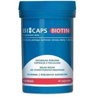 Kapsułki Bicaps Biotin - Biotyna 60 kaps witamina B7 - Formeds