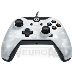 xbox one & windows wired controller (camo biały) marki Pdp