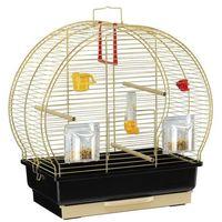 Ferplast klatka dla ptaków Luna 1 Brass (8010690090528)