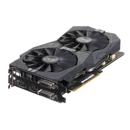 Karta graficzna Asus GeForce GTX1050 Ti Strix 4GB GDDR5 (128 Bit) HDMI, 2x DVI, DP, BOX (90YV0A31-M0NA00) Darmowy odbiór w 21 miastach