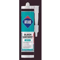 Atlas artis silikon sanitarny ciemnobrązowy-024 300ml