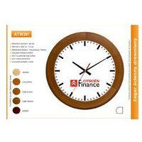 Zegar reklamowy drewniany round /300mm, ATW301