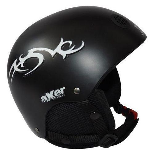 Kask narciarski AXER SPORT Venom Czarny (rozmiar M)