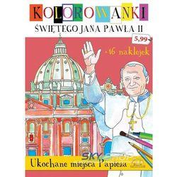 Kolorowanki świętego jana pawła ii. ukochane miejsca papieża - natalia talarek marki Sfinks