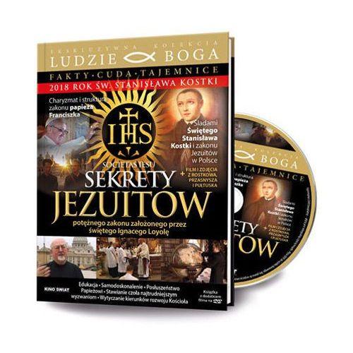 Praca zbiorowa Sekrety jezuitów. fakty-cuda-tajemnice + film dvd