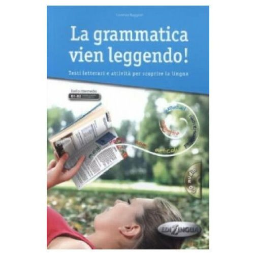 La Grammatica vien leggendo książka + CD Audio poziom B1-B2, Ruggieri Lorenza