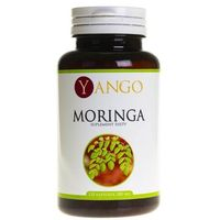 Kapsułki Moringa sproszkowane liście 120 kapsułek - YANGO
