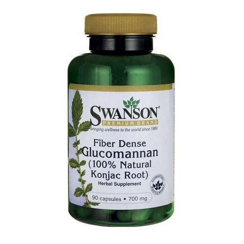 Kapsułki Swanson Glucomannan Konjac Root 700mg 90 kaps